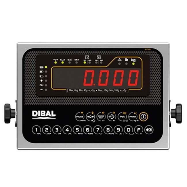 Весовые индикаторы DMI-620 корпус из нержавеющей стали