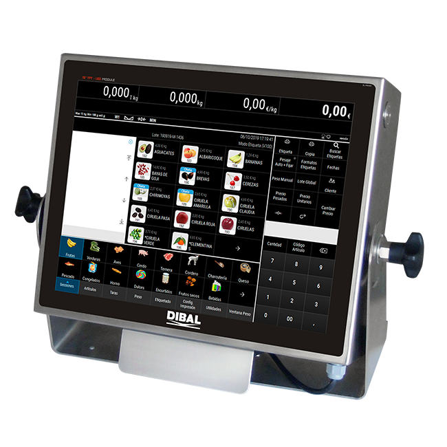 Весовой терминал на базе ПК Windows 10 Dibal VT-1200