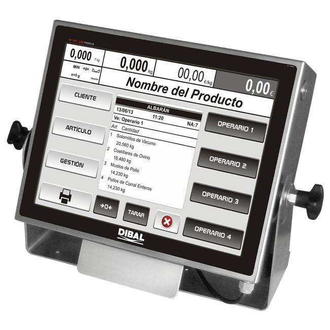 Купить весовой терминал Dibal VT-800 по выгодной цене в Dibal.ua
